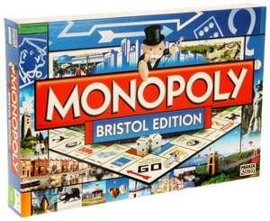Monopoly 'Bristol' Edition £12.49 Delivered to store @ WH Smith