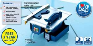 Electric Tile Cutter £29.99 @ Aldi from 14th June