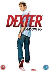 Dexter - Season 1-5 DVD Boxset £34.98 Delivered @ Sendit [21 Discs]