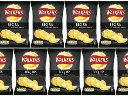 Walkers BBQ Rib Crisps 32.5g ... 15p - Home Bargains