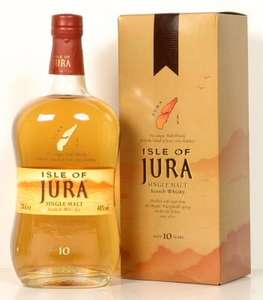 Isle of Jura 10yr old Malt Whisky 70cl £20.39 instore @ co op