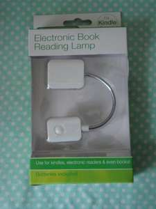 Electronic Book Reading Lamp £1 @ PoundLand