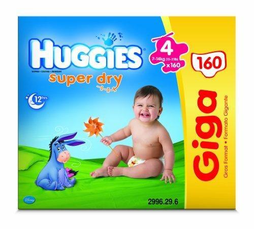 Huggies nappies Giga pack £15.99 @ Mothercare