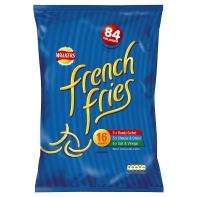 Walkers French Fries Variety (16 x 19g) £2.00 @ Asda