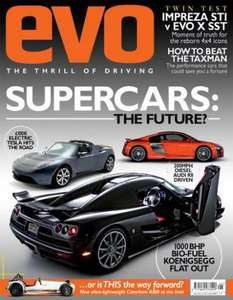 3 EVO magazines, 26piece toolkit and £25 best of the best giftcard £1 @ dennis publishing!