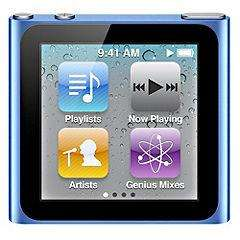 iPod nano 8GB Blue 6th Generation (Latest Model) £49.99 instore @ Sainsburys