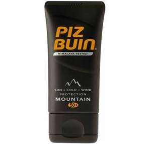 Piz Buin Sun cream/lotion half price at The Suncare shop & free delivery