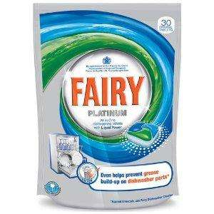 Fairy Platinum Original Dishwash Tablets 30 Washes only £5.09 DELIVERED @ Amazon
