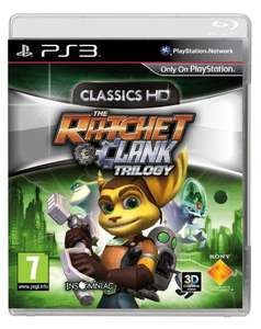 Ratchet & Clank Trilogy - PS3 Classics HD @ Asda Direct - £21 PreOrder delivered free.