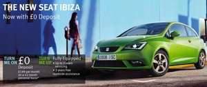 New SEAT Ibiza – No Deposit Required. £199 PM.