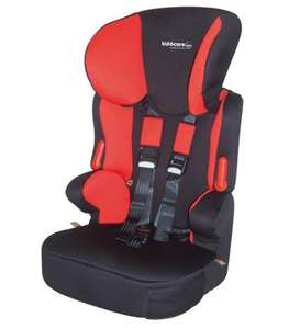 Essentials Traffic SP Car Seat - Black/Red £29.99 with next day delivery @ Kiddicare
