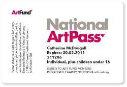 FREE 3 months National Art Pass and Whitechapel Gallery Commemorative Print @ Art Fund