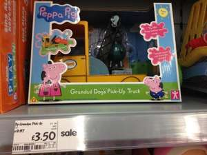 Grandpa dog pick up truck - peppa pig - Asda in store - £3.50