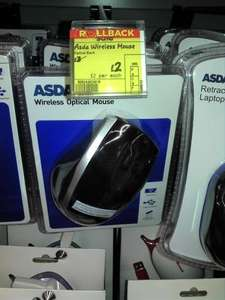 Wireless Optical Mouse, £2 ASDA Instore