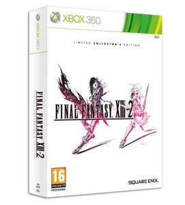 Final Fantasy XIII-2 Limited **Collector's Edition** (XBOX 360) for £11.86 @ Shopto (PS3 £12.85)