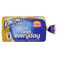 Kingsmill Bread (800g) 2 for 90p with 2 coupons at Iceland
