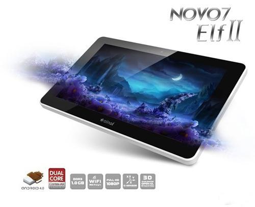 "Ainol Novo Elf 2 7"" Dual Core ICS Android Tablet £119.99 @ Futeko"
