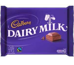 Cadbury 400G huge bars - Nuts, Fruit n Nut & Milk Choc @ Morrisons - £2