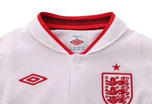 England Home shirt, £20, £22 Long sleeve (adults) & £15, £18 Long sleeve (kids) Sports direct