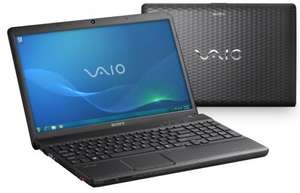 "SONY VAIO VPCEL1E1E/B LAPTOP AMD DUAL CORE 4GB 320GB 15.5"" - REFURBED £279 @ tesco/ebay"