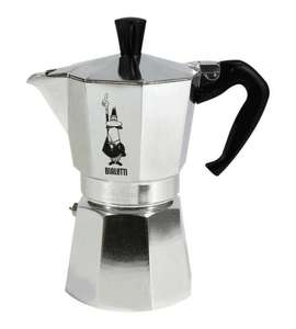 Bialetti Moka Express Espresso Maker, 6 Cup for £17.34 @ Amazon