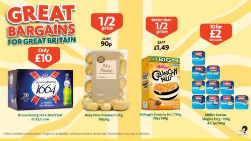Muller corner yoghurts 10 for £2 @ Morrisons