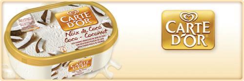Carte D'or coconut & macadamia night ice-cream £1 each @ farmfoods