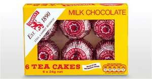 6 Tunnocks Milk Chocolate Teacakes @ ALDI 87p