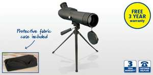 Spotting Scope 20x-60x Zoom £24.99 @ Aldi
