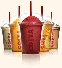 Ice Cold Costa drinks BOGOF @ Costa 20 June 2-5pm