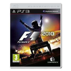 Formula 1 2010 (PS3) £3.32 Amazon Warehouse Deals - More in OP