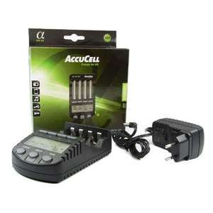 AccuCell BC-700 / 9 in 1 intelligent AA/AAA Battery Charger £22.49 delivered Amazon