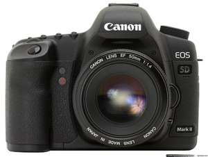Canon 5D Mark II body only Refurbished £1,252.94 (Canon UK eBay outlet)