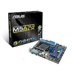 Asus M5A78L-M LX Motherboard (Micro ATX, Socket AM3+, 5200MT/S, DDR3, Core Unlocker) - £34.99 @ amazon