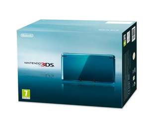 Nintendo 3DS consoles £119.99 at Sainsburys Online or £107.99 - if using attached voucher code