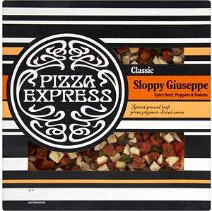 "Pizza express 12"" pizzas £2.50 at Booths"