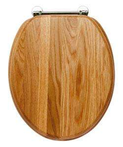 Solid Oak Toilet Seat reduced from £39.99 to £19.99 collect from store at Homebase - Great Quality