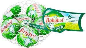 Mini Babybel Goat's Cheese (120g) was £1.75 now £1.00 @ Tesco and Asda