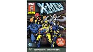 X-Men Ultimate Collection 12-disc DVD boxset (seasons 1 to 5) £13.97 @ Asda online