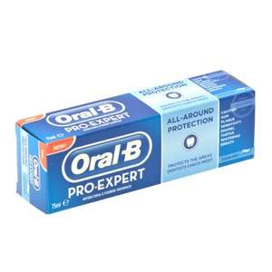 Free Sample of Oral-B Pro-Expert Toothpaste