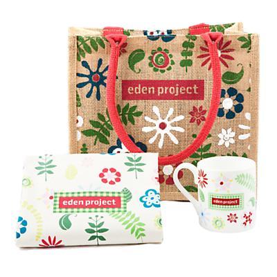 Eden Project Jute Floral Bag, Mug & Tea Towel Giftset was £17.50 now £8.00 del to store @ John Lewis/Waitrose