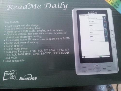 Binatone ReadMe Daily Ebook only £25 @ Asda instore
