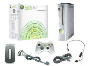 Xbox 360 Premium Console (Console, 60gb hard drive, leads, mic) £59.99 @ Gamestation/Game (Pre Owned)
