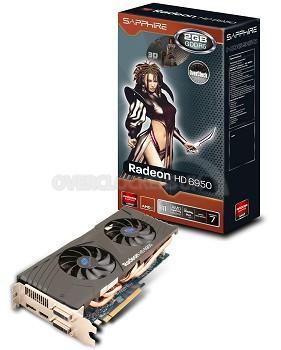 Sapphire HD 6950 OC Dual Fan Edition 2GB GDDR5 £158.99 @ Overclockers UK