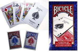 Bicycle Playing Cards 12 Pack Brick £13.99 (£14.68 with non-members surcharge) @ Costco ONLINE