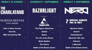 Bingley Music Festival Weekend tickets just £51 (includes P&P / Fees etc) @ BingleyLive/Seetickets