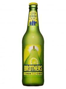 Brothers Lemon Mixed Pear cider is back - only £1.39 at Aldi