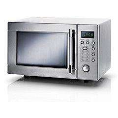 Sainsbury's Stainless Steel 20L Microwave (800w) - Half price, now £39.99