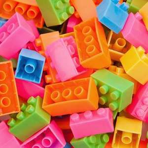 100 Pack Building Blocks at Poundland for a quid