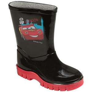 Disney Cars Lightning Mcqueen Welly Infant sizes 6,7,8,9, Child 10,11,12 £4.99 delivered free @ Get The Label using free delivery code BSM87 were £14.99
